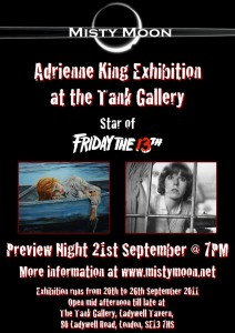 Misty Moon Adrienne King Exhibition - September 2011