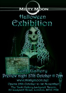 Misty Moon Halloween Exhibition - October 2011