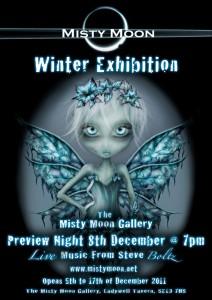 Misty Moon Winter Exhibition - December 2011