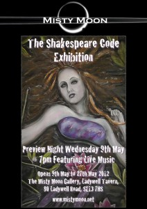 Misty Moon - The Shakespeare Code Exhibition - May 2012